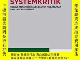 二手書博民逛書店System罕見Und SystemkritikY255174