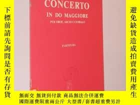 二手書博民逛書店Vivaldi罕見Concerto in do maggiore 維瓦爾第 C大調雙簧管協奏曲 總譜(16開本 )