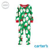 【美國 carter s】聖誕老公公連身裝(包腳)-台灣總代理