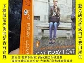 二手書博民逛書店EAT罕見PRAY LOVE. ...Y12498