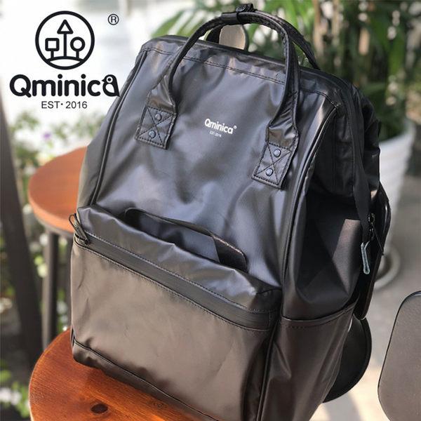 Qminica酷黑高防水後背包 NO.QM001
