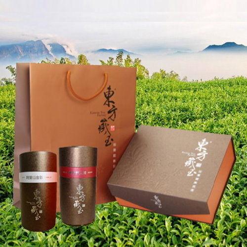 東方藏玉 - 茶葉禮盒 (東方美人茶+阿里山金萱)