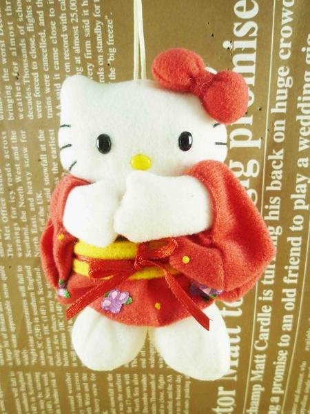 【震撼精品百貨】Hello Kitty 凱蒂貓~HELLO KITTY芳香絨毛吊飾-日本