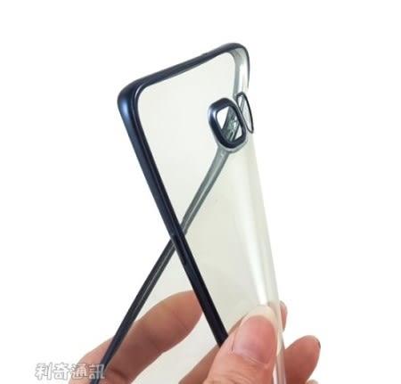 電鍍邊框透明軟殼 Samsung G9287 Galaxy S6 Edge Plus