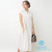❖ Hot item ❖  ALINE純棉分層式V領連身洋裝 - earth music&ecology