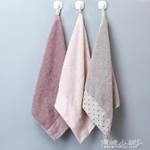擦手巾 簡約純棉擦手巾全棉吸水掛式兒童毛巾廚房衛生間抹手小方巾擦手布