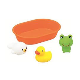 日本 樂雅 Toyroyal 洗澡玩具組