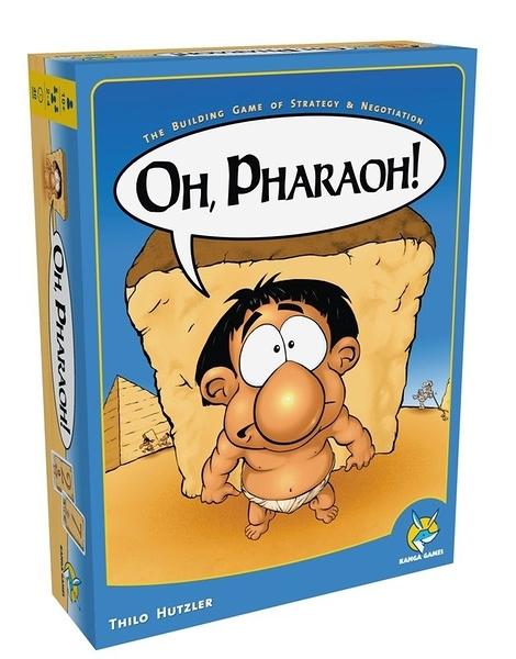 【楷樂】法老聖殿 Oh Pharaoh! - 中文正版桌遊 《德國益智遊戲》中壢可樂農莊