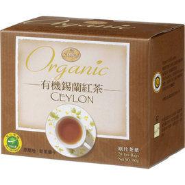 《曼寧花草茶》有機錫蘭紅茶3g*20入/盒 6盒
