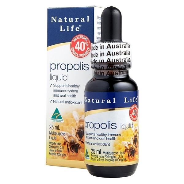 澳洲蜂膠液40%(不含酒精)【澳洲Natural Life】買多更優惠