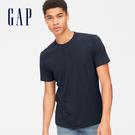 Gap男裝 基礎款簡約圓領短袖T恤 男士...