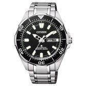 CITIZEN 鈦金屬防水機械男腕錶-NY0070-83E-42mm