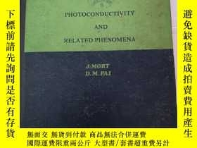 二手書博民逛書店PJOTOCONDUCTIVITY罕見AND RELATED P