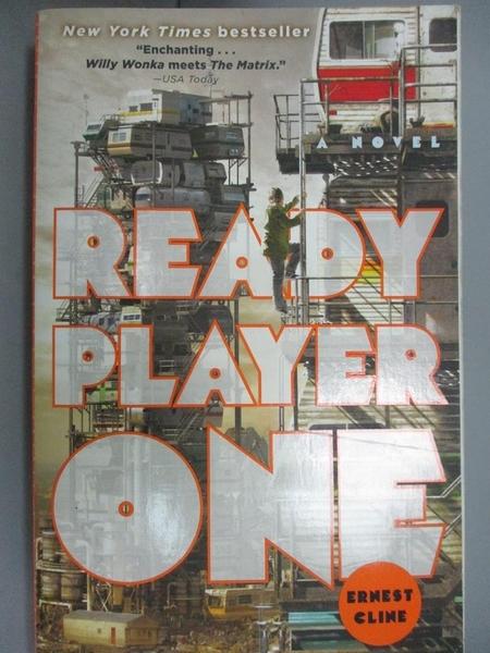 【書寶二手書T5/原文小說_HII】Ready Player One_Cline, Ernest