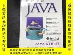 二手書博民逛書店cove罕見JAVA JDK1·0Y270271