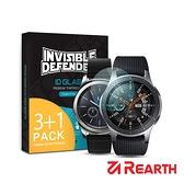 Rearth 三星 Gear S3/Galaxy Watch 46mm 強化玻璃保護貼(3+1片裝)