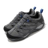 Merrell 戶外鞋 Alverstone GTX 灰 藍 男鞋 運動鞋 越野 Gore-Tex 防水 【ACS】 ML034539