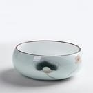 大號陶瓷青花紫砂茶洗筆洗杯洗茶具配件花盆【聚寶屋】