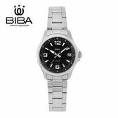 法國 BIBA 碧寶錶 經典系列 藍寶石玻璃 石英錶 B321S102B 黑色 - 35mm
