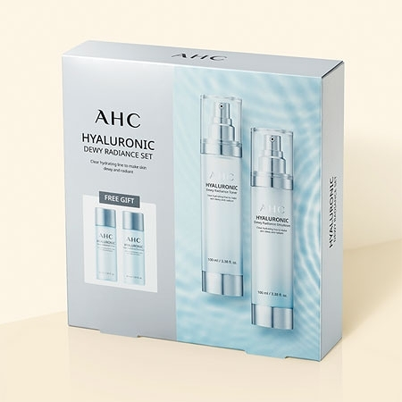 韓國 AHC 高效B5神仙水乳液四件組 神仙水 保濕 化妝水 乳液 旅行組 爽膚水 A.H.C.