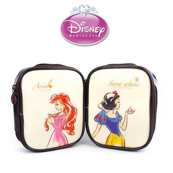 里和Riho 迪士尼公主典雅化妝包S 旅行包 萬用包 外出包 手提包 白雪公主 小美人魚 DISNEY