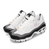 Skechers 休閒鞋 Energy CNY 白 黑 女鞋 老爹鞋 運動鞋 【PUMP306】 66666266WBK