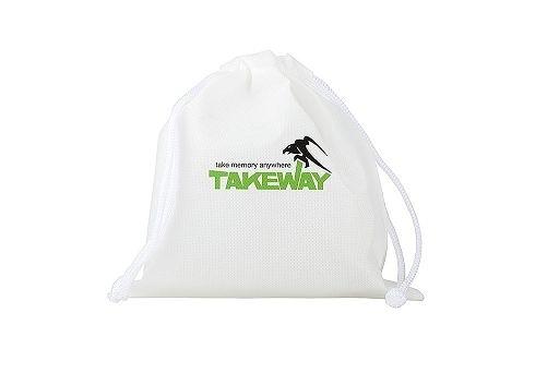 TAKEWAY 不織布 收納袋 可水洗 原廠束口袋 收納束袋 【尺寸 18*18cm 】For T1+ T1 T2 R1 R2 R2gats
