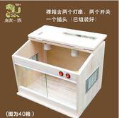刺猬角蛙爬寵箱飼養箱加熱蜥蜴蜘蛛