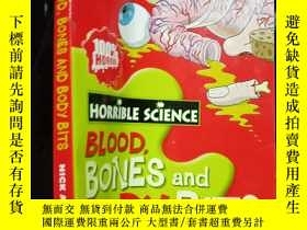 二手書博民逛書店Horrible罕見science--blood,bones a