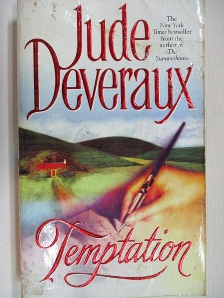 【書寶二手書T1/原文小說_BJ5】Temptation_Jude Daveraux