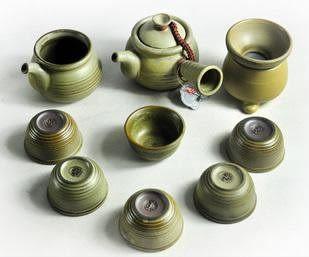 功夫茶具整套陶器
