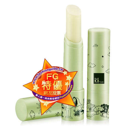 Momus 綠茶潤唇修護素 3.5g【BG Shop】雜誌、FG推薦