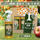 【富樂屋】Gbao橘寶 濃縮多功能洗淨液 99.9%抑菌 (三入組)