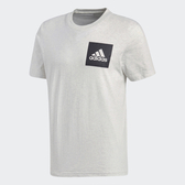 Adidas ESS Box Logo Tee [BS4862] 男 圓領 短袖 運動 休閒 舒適 棉T 愛迪達 米
