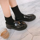 牛津鞋 夏英倫風休閒小皮鞋學院風復古女鞋牛津平底復古單鞋流蘇樂福鞋 免運