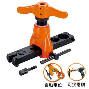 台灣製造手動電動兩用銅管擴管器 擴孔器 偏心式擴喇叭口器