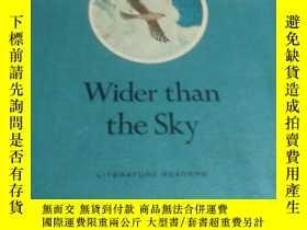 二手書博民逛書店wider罕見than THE skyY452422 不祥 不祥 出版1968