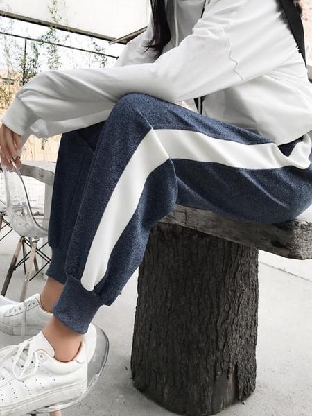 ins褲子女學生寬鬆韓版收腳長褲百搭束腳休閒顯瘦運動褲潮春秋冬 米娜小鋪
