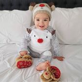 聖誕節長袖套裝  耶誕節長袖套裝 迎新年二件式童裝 SK9444 好娃娃