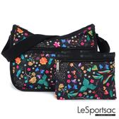 LeSportsac - Standard側背水餃包/流浪包-附化妝包 (甜蜜花園) 7520P F024