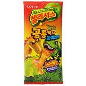 LOTTE 樂天 雙色恐龍造型軟糖(30g)【小三美日】進口零食 / 團購 / 零嘴