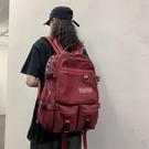 大容量雙肩包書包女韓版學生後背包旅行【小酒窩服飾】