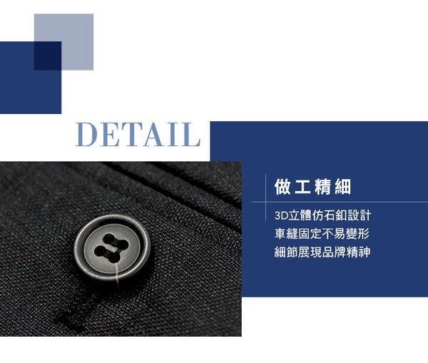 極品西服 復古格紋混紡毛料平面西褲_灰(BS606-1)