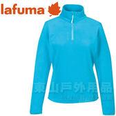 Lafuma LFV9338-6910湖水綠藍 女款 半門襟薄刷毛保暖上衣 LD GREENLIGHT TZIP