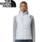 【The North Face 女款 700fP 羽絨背心《淺灰》】3651DYX/保暖背心/內搭背心