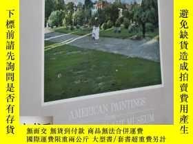二手書博民逛書店Unknown著《帕裏什藝術博物館罕見:美國繪畫》1982年出版