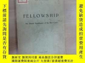 二手書博民逛書店外文書罕見fellowship 共93頁Y15969