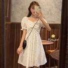 新款甜美初戀裙氣質碎花裙子