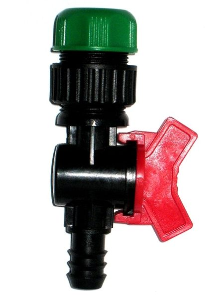六分水管轉16mm開關接頭(球閥)