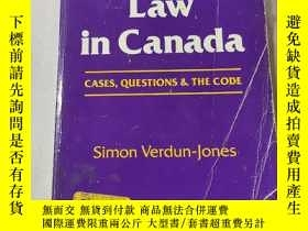 二手書博民逛書店Criminal罕見law in canada:加拿大刑法Y212829